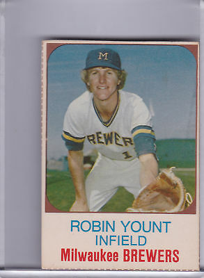 1975 Hostess #80 Robin Yount Rookie Rc Brewers