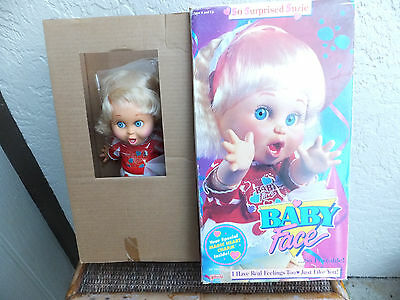 So Surprised Suzie Galoob Baby Face 1990 New