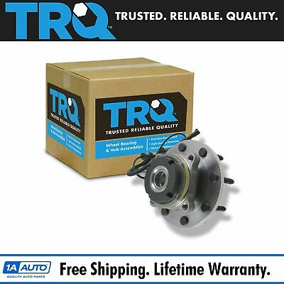 TRQ Wheel Hub & Bearing Front for Ford Pickup Truck SD 4x4 4WD w/ ABS