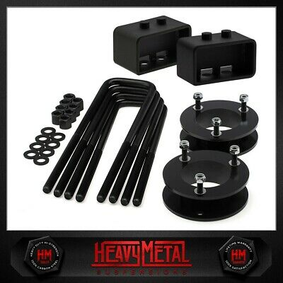 """3.5"""" Front + 3"""" Rear Steel Full Lift Level Kit Fits Ford F150 2004-2008 2WD 4WD"""