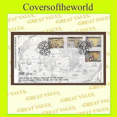 Bophuthatswana 1993 Old Maps Series III First Day Cover
