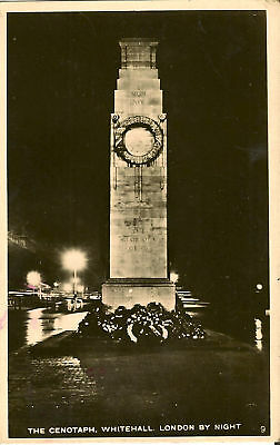 LONDON : The Cenotaph ,Whitehall by night RP