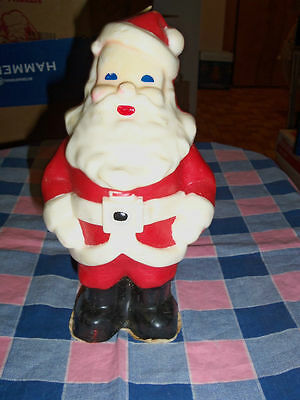 Older Suni Candle Large Santa Claus Christmas 8 1/2 Inc