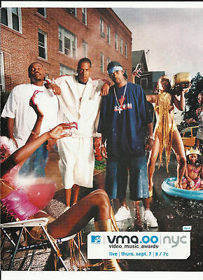 JAY Z MTV Video Music Awards Trade Ad POSTER in 2000