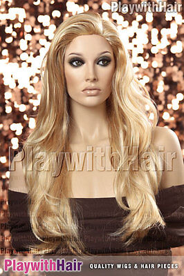 Lush Lengths XLong Wig - COLOUR CHOICES! Blonde Brown Gold Red Caramel Sandy