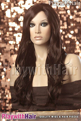 XXLong Tousled Side Part Wig - COLOUR CHOICES!