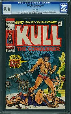 Kull the Conqueror #1 CGC 9.6 1971 WHITE! Conan 987 cm