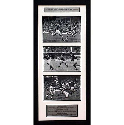 Legends of Welsh Rugby – signed by JPR Williams