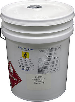 Denatured Ethanol, 5 Gallon Pail