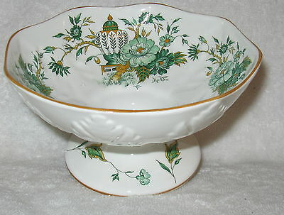 Crown Staffordshire Kowloon Round Compote 6""