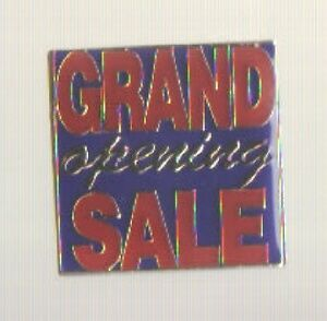 Grand Opening Sale 25 Enamel Pin Lot For New Business Store Open Staff Employees