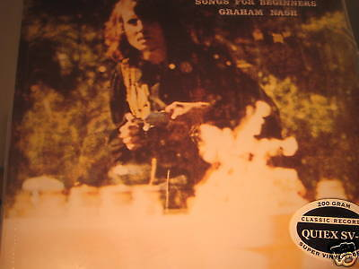 GRAHAM NASH SONGS TO REMEMBER RARE CLASSIC RECORDS 200 GRAM COMPLETE Sealed LP