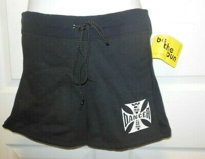 Nwt Motionwear West Coast Dancer Shorts Black Large Adult Ladies 10-12