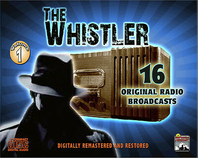 THE WHISTLER - Old Time Radio Shows Vol  1