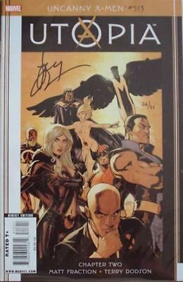 Uncanny X-Men #513 Dynamic Forces Df Signed Terry Dodson Coa Ltd 49 Utopia