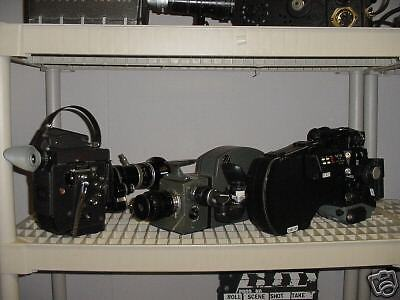 LOT: USED Aaton, Bolex, CP GSMO Super 16mm Cameras. PLEASE MAKE YOUR OFFER