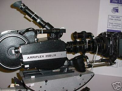 2- Arriflex Arri 35-BL3 & 1- Arri 35-3 PKG. PLEASE MAKE ALL FAIR OFFERS