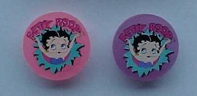Betty Boop set of 4 Sharpeners and Heart Shapped Erasers