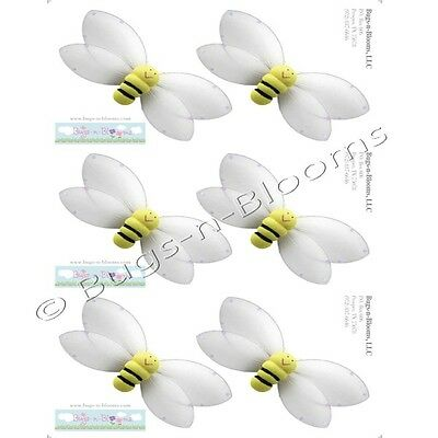 BUMBLEBEE WALL STICKERS Bumble Bee Removable Vinyl Decals Baby Nursery Shower