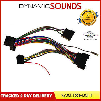 SOT-963 Parrot Bluetooth ISO Interface Lead For Vauxhall Astra, Insignia, Meriva
