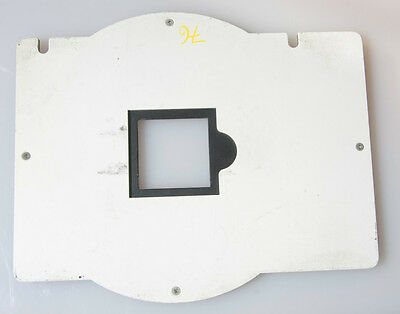 """Omega D Series Negative Carrier for 2x2"""" Mounted Film 40x40mm Opening - USED 68"""