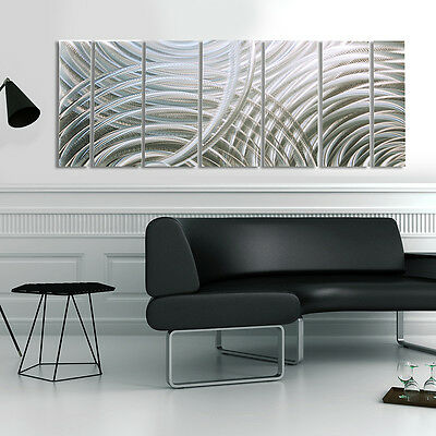 Statements2000 Silver 3D Metal Wall Art Hanging Modern Abstract Decor Jon Allen