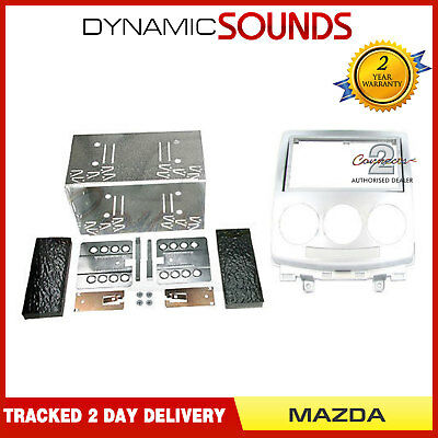 CT23MZ02 Car CD Stereo Double Din Fascia Panel Fitting Kit For Mazda 5 2005-2010
