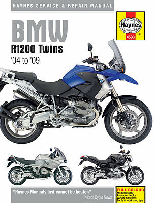 Haynes Manual 4598 - BMW R1200GS / Adventure, R1200ST, R1200RT, R1200S & R1200R
