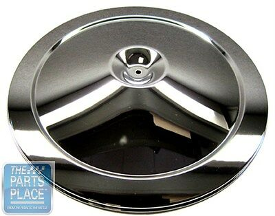67-72 Camaro Chevelle Cowl Induction Air Cleaner With Black Lid OE Early Style