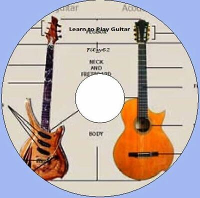 Learn To Play The Guitar - 6 Books + Bonuses on one great CD Rom
