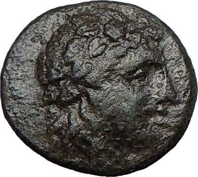 Side in Pamphylia 300BC Unpublished Ancient Greek Coin  APOLLO ATHENA  i23688