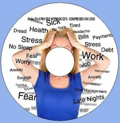 Make ££s 6 PRO SELF HYPNOSIS CD'S - COMPRESSED ON 1 CD