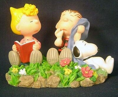 Peanuts Sally Linus and Snoopy Statue