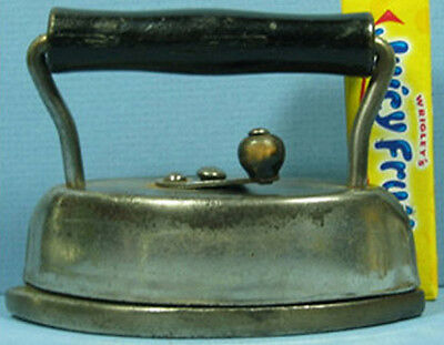 """Old Dover #912 Toy Sad Iron 4"""" Long All Original Old Toy T74"""