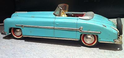 Vintage 1940's 1950's PACKARD RARE German Tin Metal US ZONE GERMANY TIN WIND UP