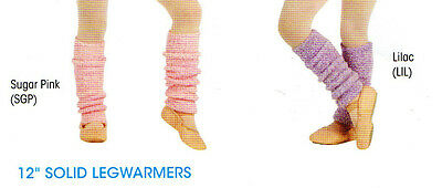 "NWT HARMONIE LEGWARMERS GIRLS 12""  SuperSOFT Pink or Cactus"