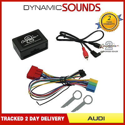 AUDI A3 98-2005 MP3 iPod iPhone Aux Input Interface Adaptor CTVADX001 & CT22AU01