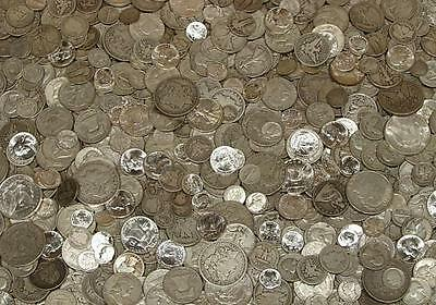 1/4 Lb. 90% Us Silver Coin Lot Guaranteed Unsearched Inc. Morgan Or Peace Dollar