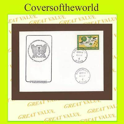 St Thomas & Principe 1987 Scouts Issue First Day Cover