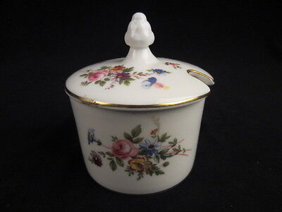 english minton cover vase mustard jelly floral motif marlow