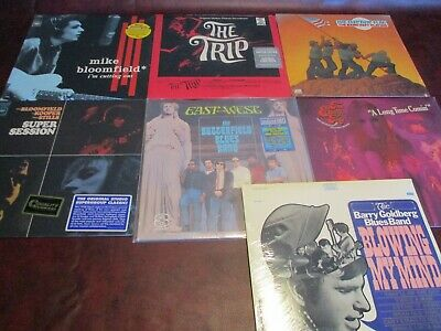 Mike Bloomfield Collection Electric Flag Super Session Butterfield Trip  8Lp Set