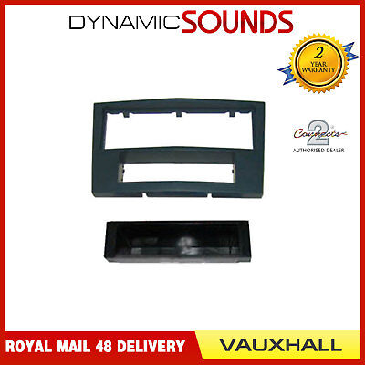 FP-19-01 CG Stereo Charcoal Grey Fascia Panel For Vauxhall Astra, Zafira, Corsa
