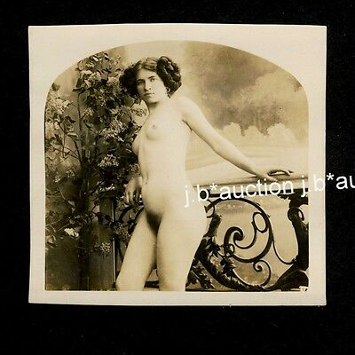 CZECH CLASSICAL NUDE WOMEN'S STUDY / WEIBLICHE AKT STUDIE * Vintage 10s Photo #1
