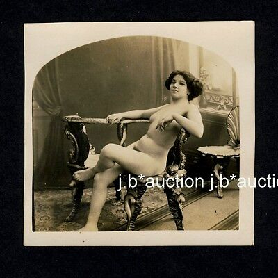 CZECH CLASSICAL NUDE WOMEN'S STUDY / WEIBLICHE AKT STUDIE * Vintage 10s Photo #2