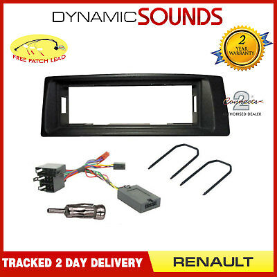 Radio Replacement Fitting Kit Fascia Stalk Removal Key Aerial For Renault Megane