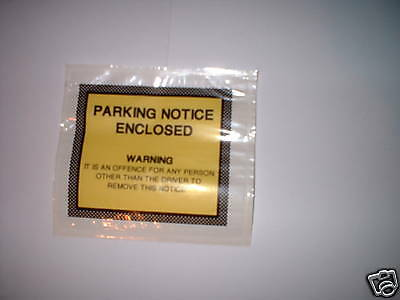 10.Fake Parking Ticket Stickers.Wind up a naughty driver .Guaranteed delivery