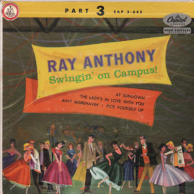 Anthony Ray - Swingin' on campus