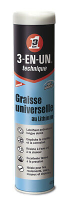 Graisse Universelle Lithium Cartouche 400g x2 3-EN-1 - 3-in-one