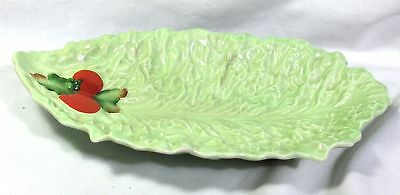 BEAUTIFUL CARLTON WARE TOMATOE SALADWARE DISH