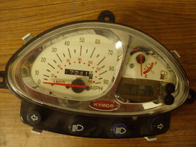 2002-2007 2009-2011 Kymco People 150 Speedometer Instrument Cluster # 7
